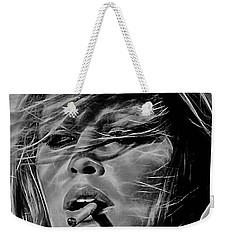 Brigitte Bardot Weekender Tote Bag by Marvin Blaine