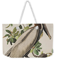 Brown Pelican  Weekender Tote Bag by John James Audubon