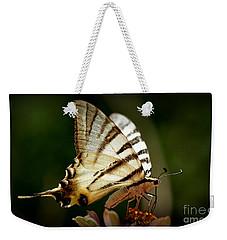 Butterfly Weekender Tote Bag by Sylvie Leandre