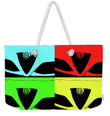 4 C Pop Weekender Tote Bag by John Schneider