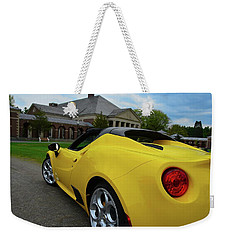 4 C Spider Weekender Tote Bag by John Schneider