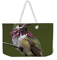 Calliope Hummingbird Weekender Tote Bag by Doug Herr
