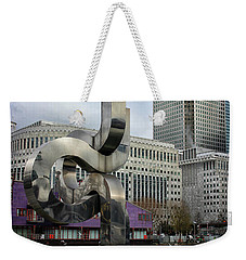 Canary Wharf Weekender Tote Bag by Martin Newman