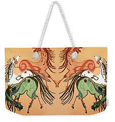 Dancing Musical Horses Weekender Tote Bag by Scott D Van Osdol