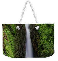 Weekender Tote Bag featuring the photograph Dollar Glen In Clackmannanshire by Jeremy Lavender Photography