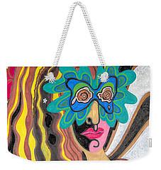 4 Faces Of Laurel - I Weekender Tote Bag
