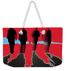 4 Friends Walking Into The Sun Weekender Tote Bag