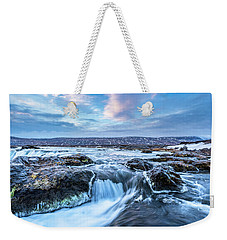Godafoss Waterfall In Iceland Weekender Tote Bag
