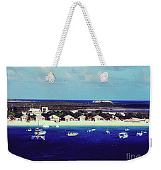 Weekender Tote Bag featuring the photograph Grand Turk by Gary Wonning