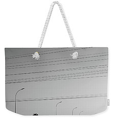 Weekender Tote Bag featuring the photograph Hometown by Beto Machado