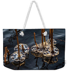 Ice Art Weekender Tote Bag