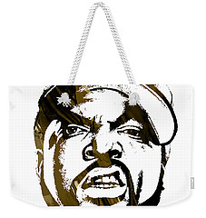 Ice Cube Straight Outta Compton Weekender Tote Bag by Marvin Blaine