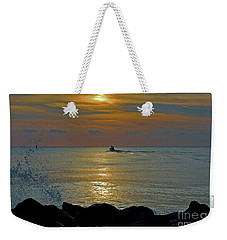 Weekender Tote Bag featuring the photograph 4- Into The Day by Joseph Keane