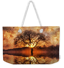 Lone Tree Weekender Tote Bag by Ian Mitchell