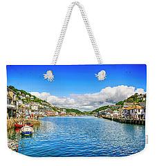 Looe In Cornwall Uk Weekender Tote Bag