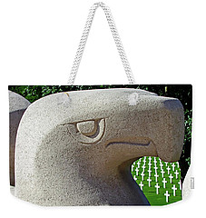 Weekender Tote Bag featuring the photograph Lorraine Wwii American Cemetery - St Avold, France by Joseph Hendrix