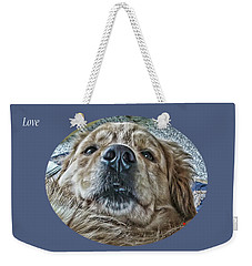 Weekender Tote Bag featuring the photograph Love by Rhonda McDougall