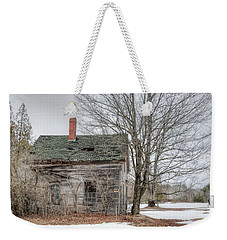 Weekender Tote Bag featuring the photograph Maine Vacancy by Richard Bean