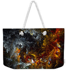 Multicolored Abstract Figures Weekender Tote Bag