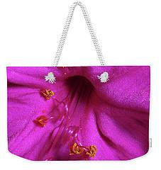 4 O'clock Bloom Weekender Tote Bag by Richard Rizzo