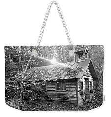One Room School House Gnawbone Indiana Weekender Tote Bag by Scott D Van Osdol