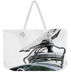 Packard Hood Ornament Weekender Tote Bag