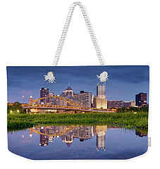Weekender Tote Bag featuring the photograph Pittsburgh North Shore  by Emmanuel Panagiotakis