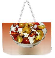 Plum Cherry Tomatoes Weekender Tote Bag