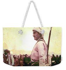 Portrait Of Melle Mutafa Barzani Weekender Tote Bag