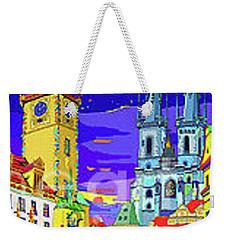 Prague Old Town Square Weekender Tote Bag