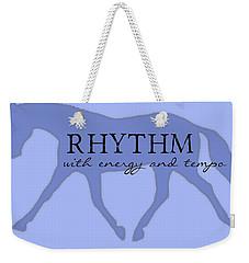 Rhythm Weekender Tote Bag