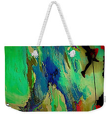 Rock Climber Collection Weekender Tote Bag by Marvin Blaine