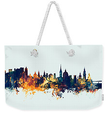 Salzburg Austria Skyline Weekender Tote Bag by Michael Tompsett
