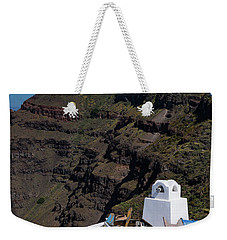 Santorini, Greece Weekender Tote Bag
