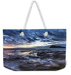 Seascape Cloudy Nightscape Weekender Tote Bag