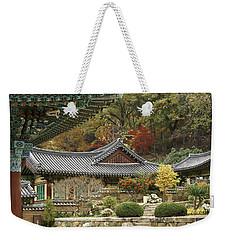 Seonamsa In Autumn Weekender Tote Bag