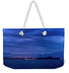 Weekender Tote Bag featuring the photograph Sirmione by Traven Milovich