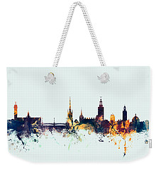 Stockholm Sweden Skyline Weekender Tote Bag