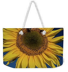 Sunflower Fields Weekender Tote Bag by Miguel Winterpacht