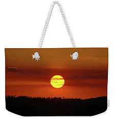 Weekender Tote Bag featuring the photograph 4- Sunset by Joseph Keane