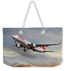 Swiss Airbus A330-343 Weekender Tote Bag
