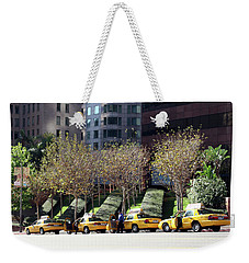 4 Taxis In The City Weekender Tote Bag