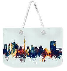 Tehran Iran Skyline Weekender Tote Bag
