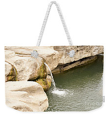 Weekender Tote Bag featuring the photograph Texas - Mckinney Falls State Park  by Ray Shrewsberry
