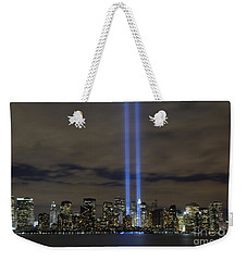The Tribute In Light Memorial Weekender Tote Bag