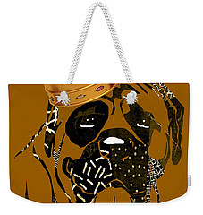 Top Dog Collection Weekender Tote Bag by Marvin Blaine