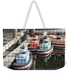 4 Toy Boats Weekender Tote Bag