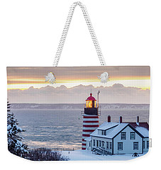 West Quoddy Lighthouse Weekender Tote Bag