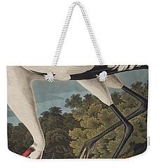 Whooping Crane Weekender Tote Bag
