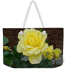 4 Yellow Roses Weekender Tote Bag